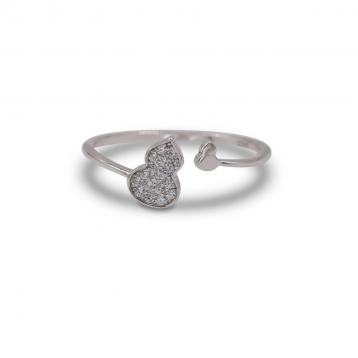 925 Silver Cubic Zirconia Ring